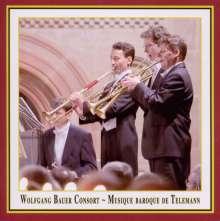 Georg Philipp Telemann (1681-1767): Musique Baroque de Telemann, CD