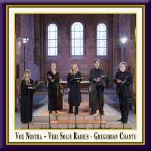 "Gregorian Chants  ""Veri Solis Radius"", CD"