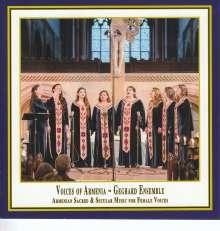 Voices of Armenia - Armenische Vokalmusik aus dem 4. bis 21. Jahrhundert für Frauenstimmen, CD