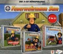 Feuerwehrmann Sam - Hörspielbox 1, 3 CDs