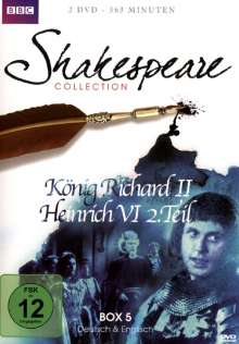 Shakespeare BBC Collection Box 5, 2 DVDs