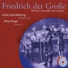 """Friedrich II.von Preussen """"Friedrich der Große"""" (1712-1786): Werke für Flöte & Cembalo, CD"""