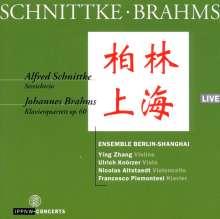 Alfred Schnittke (1934-1998): Streichtrio, CD
