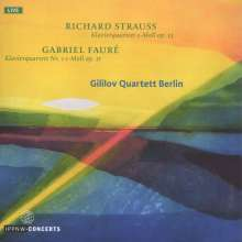Gililov Quartett Berlin - Richard Strauss / Gabriel Faure, CD