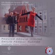 Pauline Reguig & Emilio Peroni, CD