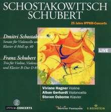 Dmitri Schostakowitsch (1906-1975): Sonate für Cello & Klavier op.40, CD