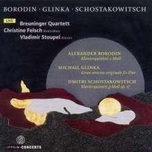 Alexander Borodin (1833-1887): Klavierquintett c-moll, 2 CDs
