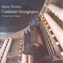 Bjarne Hersbo (geb. 1946): Orgelwerke, CD