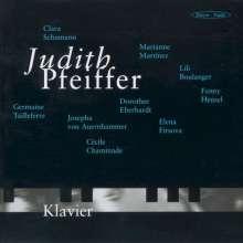 Judith Pfeiffer - Klavierwerke von Komponistinnen, CD