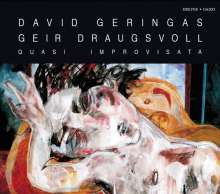 David Geringas - Quasi Improvisata, CD