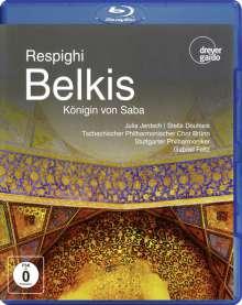 Ottorino Respighi (1879-1936): Belkis, Königin von Saba, Blu-ray Disc