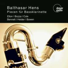 Balthasar Hens - Piecen für Bassklarinette, CD