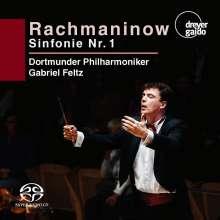 Sergej Rachmaninoff (1873-1943): Symphonie Nr.1, Super Audio CD