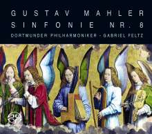 Gustav Mahler (1860-1911): Symphonie Nr.8, 2 Super Audio CDs