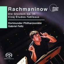 Sergej Rachmaninoff (1873-1943): Die Glocken op. 35, Super Audio CD