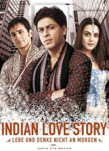 Indian Love Story, DVD