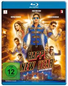 Happy New Year (Blu-ray), Blu-ray Disc