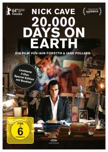20.000 Days on Earth (OmU) (Special Edition) (Blu-ray & DVD), 3 Blu-ray Discs
