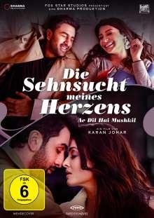 Die Sehnsucht meines Herzens - Ae Dil Hai Mushkil (Vanilla-Edition), DVD