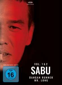 Sabu Box: Dangan Runner (OmU) / Mr. Long (Blu-ray & DVD im Digipack), 1 Blu-ray Disc und 1 DVD