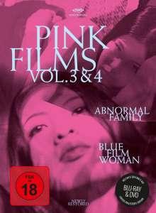 Pink Films Vol. 3 & 4: Abnormal Family / Blue Film Woman (Blu-ray & DVD im Digipack), 1 Blu-ray Disc und 1 DVD