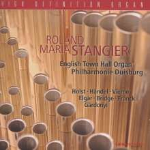 Roland Maria Stangier - English Town Hall Organ PO Duisburg, CD