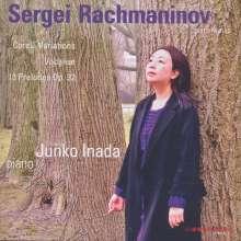 Sergej Rachmaninoff (1873-1943): Preludes op.32 Nr.1-13, CD