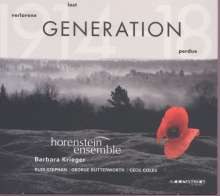 Horenstein Ensemble - Verlorene Generation, CD