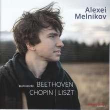 Alexei Melnikov - Beethoven / Chopin / Liszt, CD