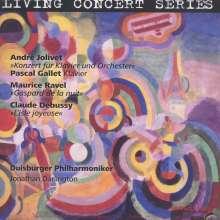 Andre Jolivet (1905-1974): Klavierkonzert, CD