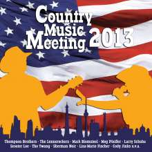 Country Music Meeting 2013, CD