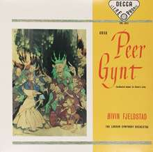 Edvard Grieg (1843-1907): Peer Gynt op.23 (Ausz.) (180g), LP
