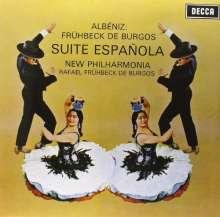 Isaac Albeniz (1860-1909): Suite Espanola (180g), LP