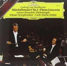 Ludwig van Beethoven (1770-1827): Klavierkonzert Nr.1 (180g), LP