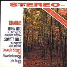 Johannes Brahms (1833-1897): Sonate für Violine & Klavier Nr.1 (op.78) (180g), LP