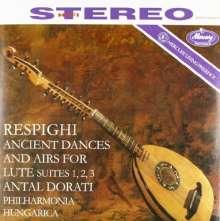 Ottorino Respighi (1879-1936): Antiche Danze ed Arie per Liuto (180g), LP