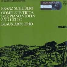 Franz Schubert (1797-1828): Klaviertrios Nr.1 & 2 (180g), 2 LPs