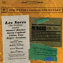 Igor Strawinsky (1882-1971): Les Noces (180g), LP