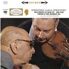 Igor Strawinsky (1882-1971): Violinkonzert (180g), LP
