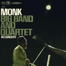 Thelonious Monk (1917-1982): Big Band & Quartet In Concert (180g HQ-Vinyl) (stereo), LP