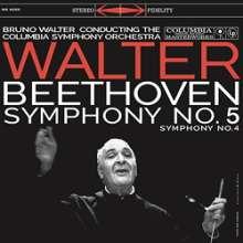 Ludwig van Beethoven (1770-1827): Symphonien Nr.4 & 5 (180g), LP