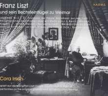 Cora Irsen - Liszt und sein Bechsteinflügel Weimar, CD
