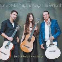 Yuliya Lonskaya, Daniel Shelter & Lulo Reinhardt: Live @ Lulo Reinhardt Acoustic Lounge, CD