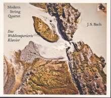 Johann Sebastian Bach (1685-1750): Das Wohltemperierte Klavier 1 für Streichquartett, CD
