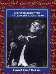 Leonard Bernstein - The Concert Collection, 9 DVDs