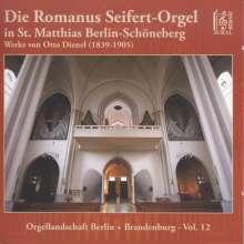 Die Romanus Seifert-Orgel in St. Matthias Berlin-Schöneberg, CD