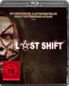 Last Shift (Blu-ray), Blu-ray Disc