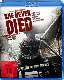 She never died (Blu-ray), Blu-ray Disc