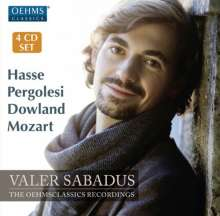 Valer Sabadus - The OehmsClassics Recordings, 4 CDs