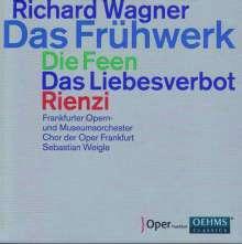 Richard Wagner (1813-1883): Das Frühwerk (3 frühe Opern), 9 CDs